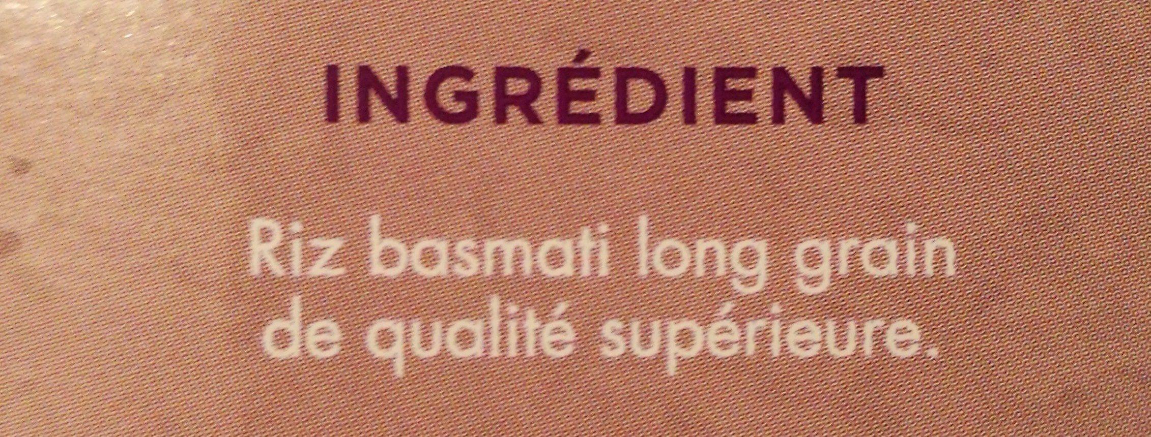 Riz basmati long grain - Ingredienti - fr