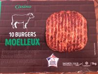10 burgers moelleux - Product