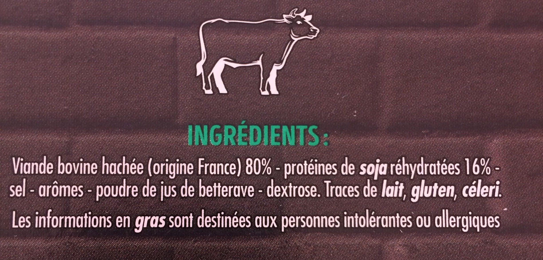 10 burgers moelleux - Ingredients