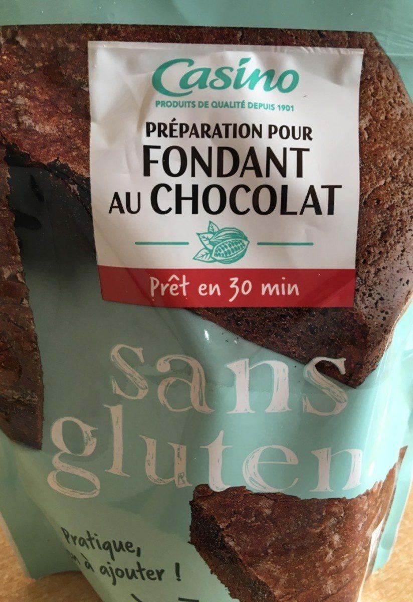 Préparation pour Fondant au chocolat sans gluten - Product