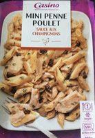 Mini penne poulet sauce aux champignons - Produit