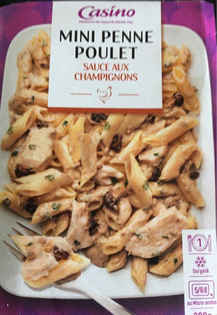 Mini penne poulet sauce aux champignons - Product