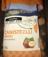 Canistrelli corses aux noisettes - Product