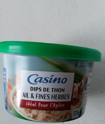 DIPS DE THON  AILS ET FINES HERBES - Product - fr