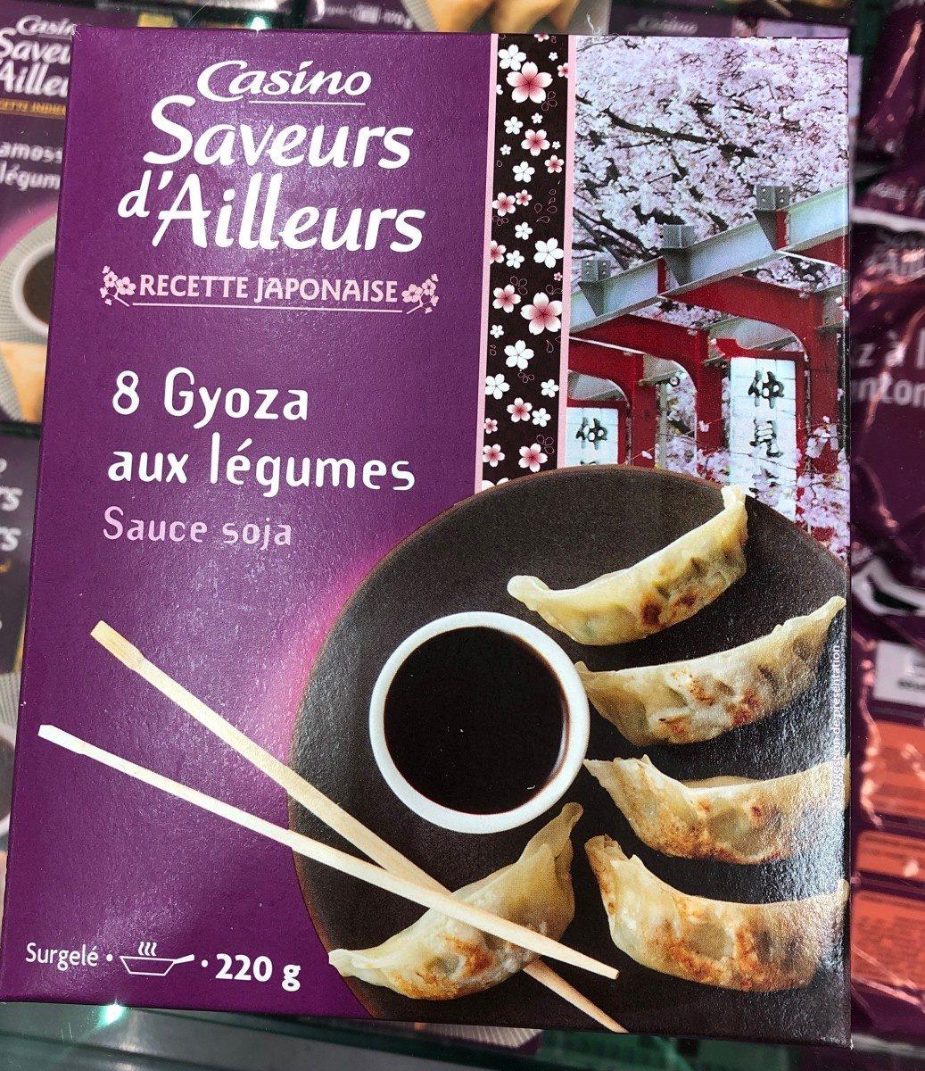 8 Gyoza aux légumes sauce soja - Product