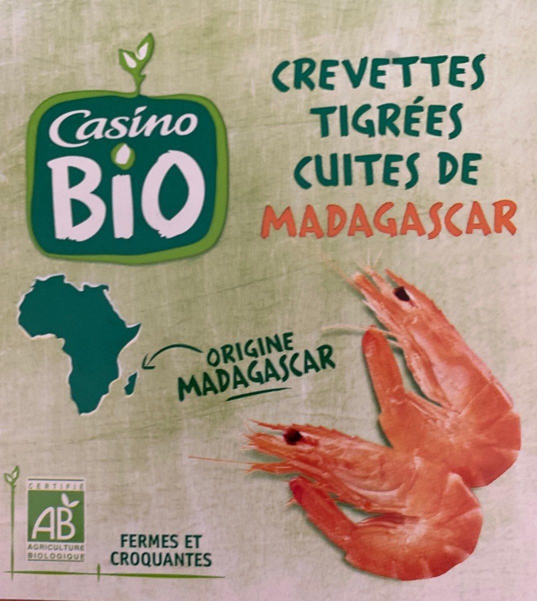 Crevettes tigrées cuites de MADAGASCAR - Product - fr