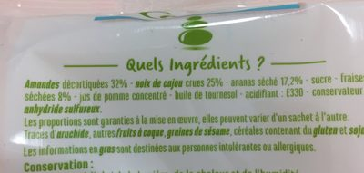 Pause décontract - Ingredients