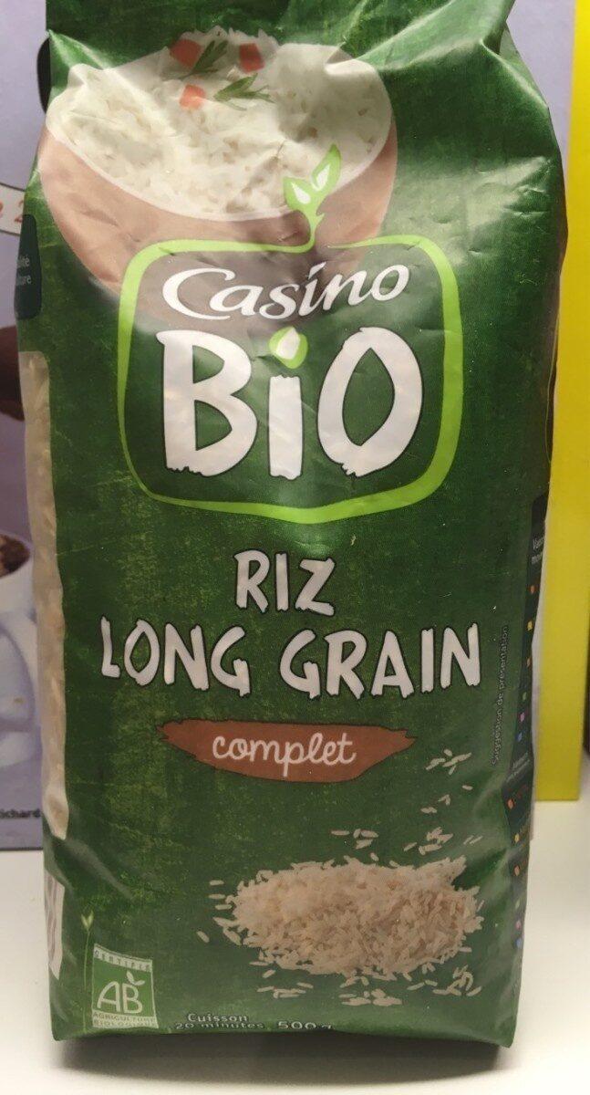 Riz long grain complet - Prodotto - fr