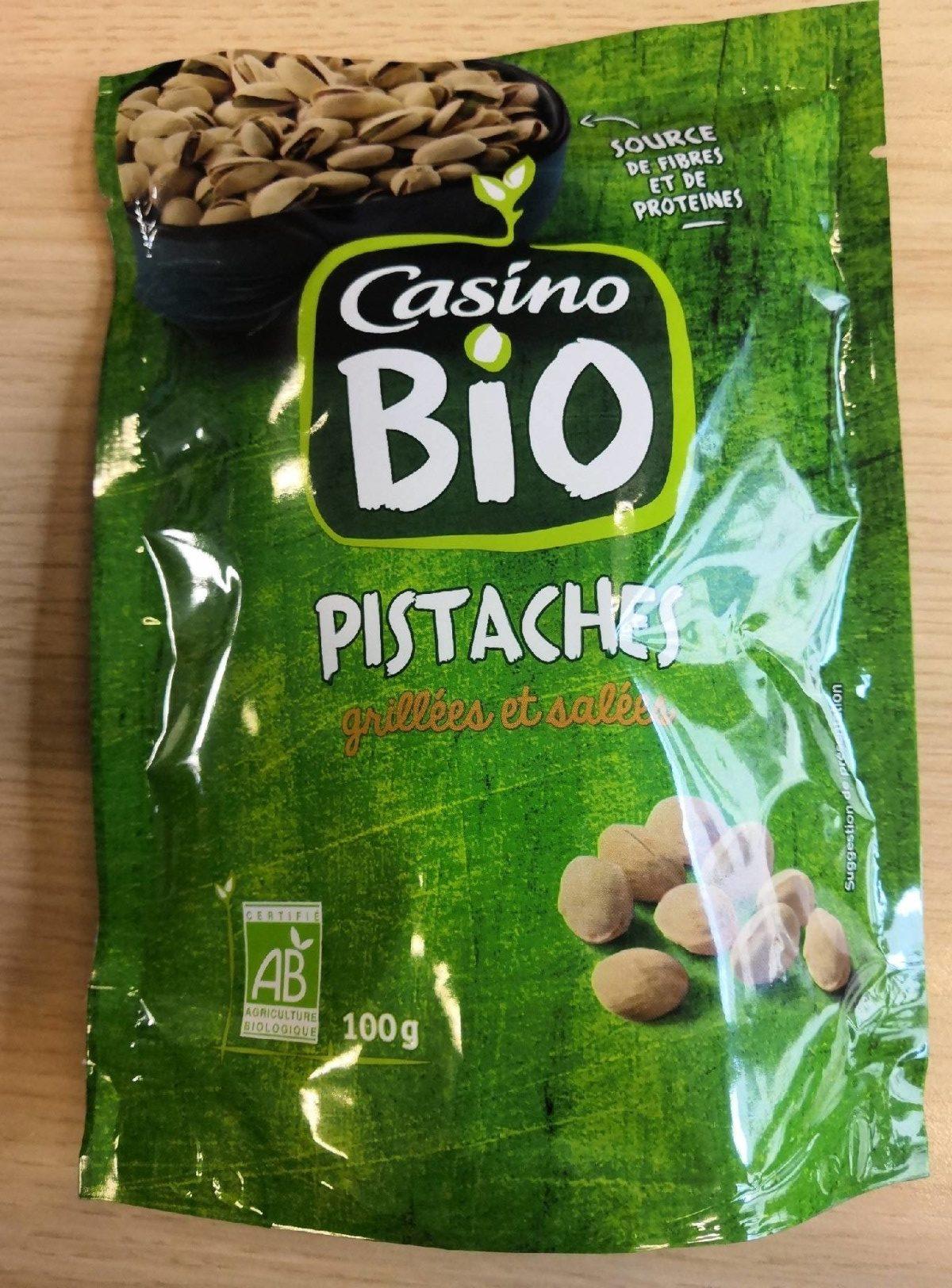 Pistaches grillées et salées BIO - Product