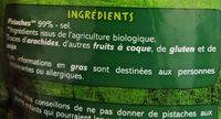 Pistaches grillées et salées BIO - Ingrediënten