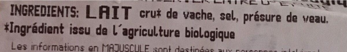 Pointe de parmigiano reggiano AOP BIO - Ingredienti - fr