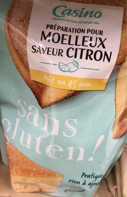 Préparation pour Moelleux saveur Citron sans gluten - Product - fr