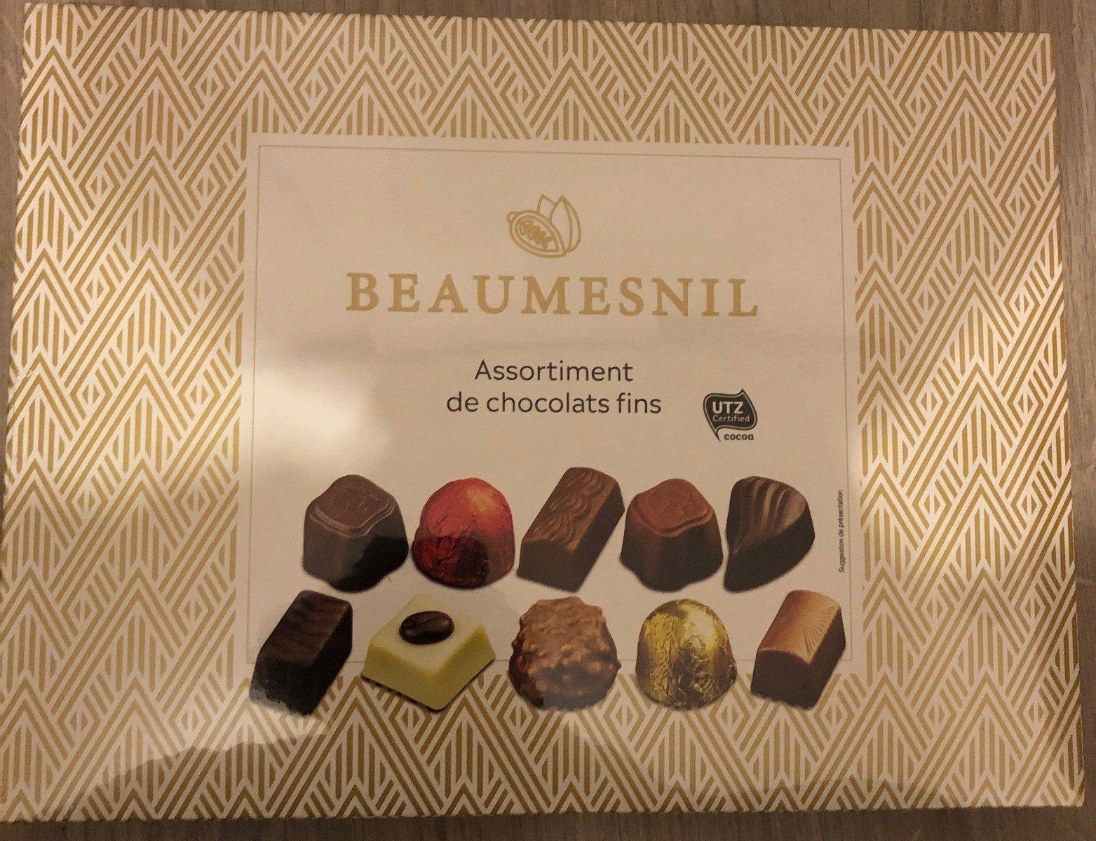 Assortiment de chocolats fins - Product