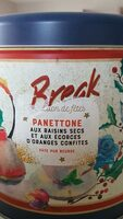 Panettone pur beurre festif boite métal - Product - fr