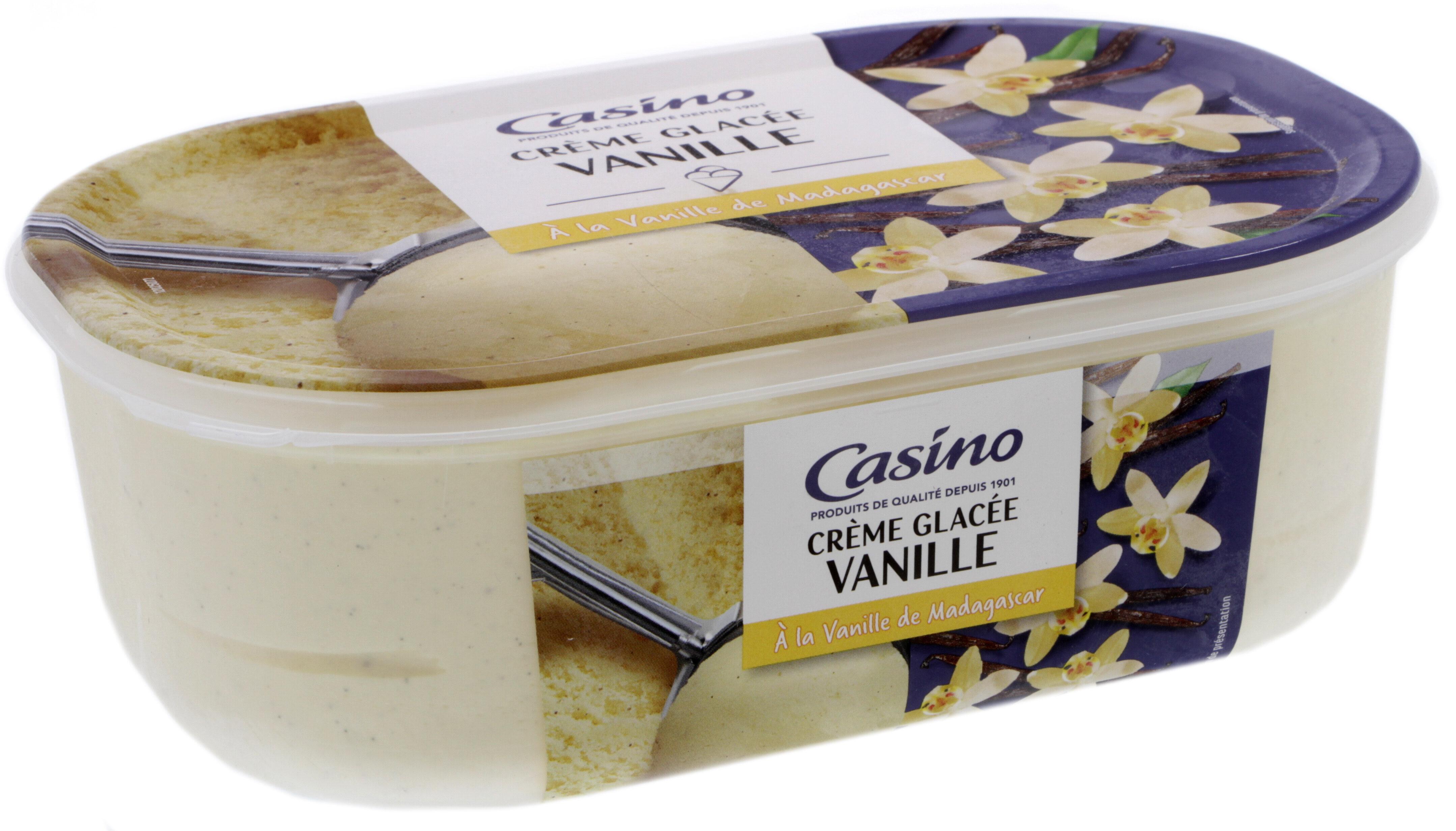 Crème glacée Vanille - A la vanille de Madagascar - Product