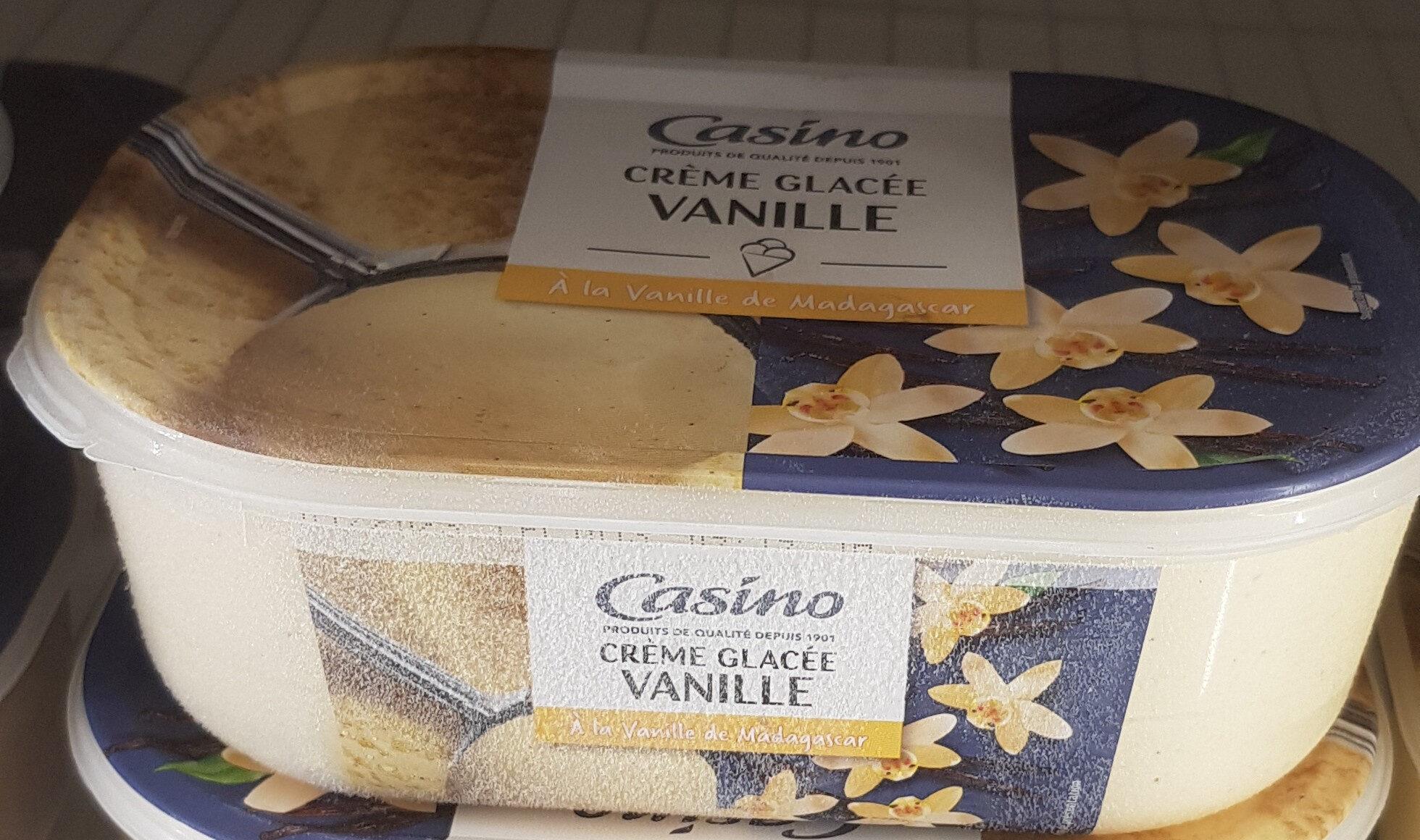 Crème glacée Vanille - A la vanille de Madagascar - Produit - fr