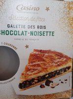 Galette des rois chocolat-noisette - Produit