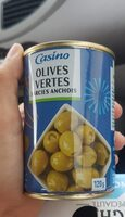 Olives vertes farcies anchois - Product
