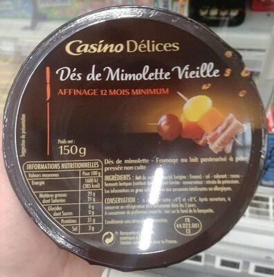 Dés de mimolette vieille - Affinage 12 mois minimum - Product