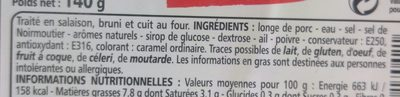 Rôti porc supérieur ss antibiotique - Ingredients - fr