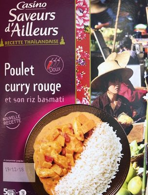 Poulet au curry rouge - Product