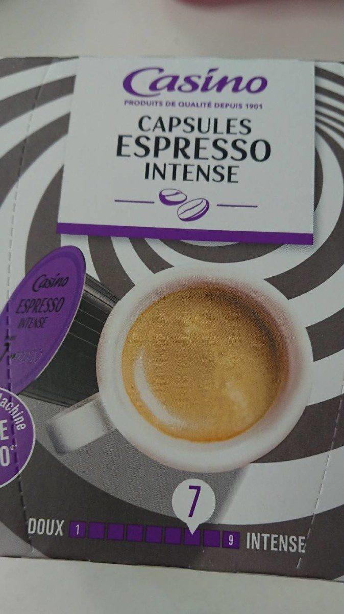 Dosette contretype Dolce Gusto café espresso intenso (16 capsules) - Prodotto - fr