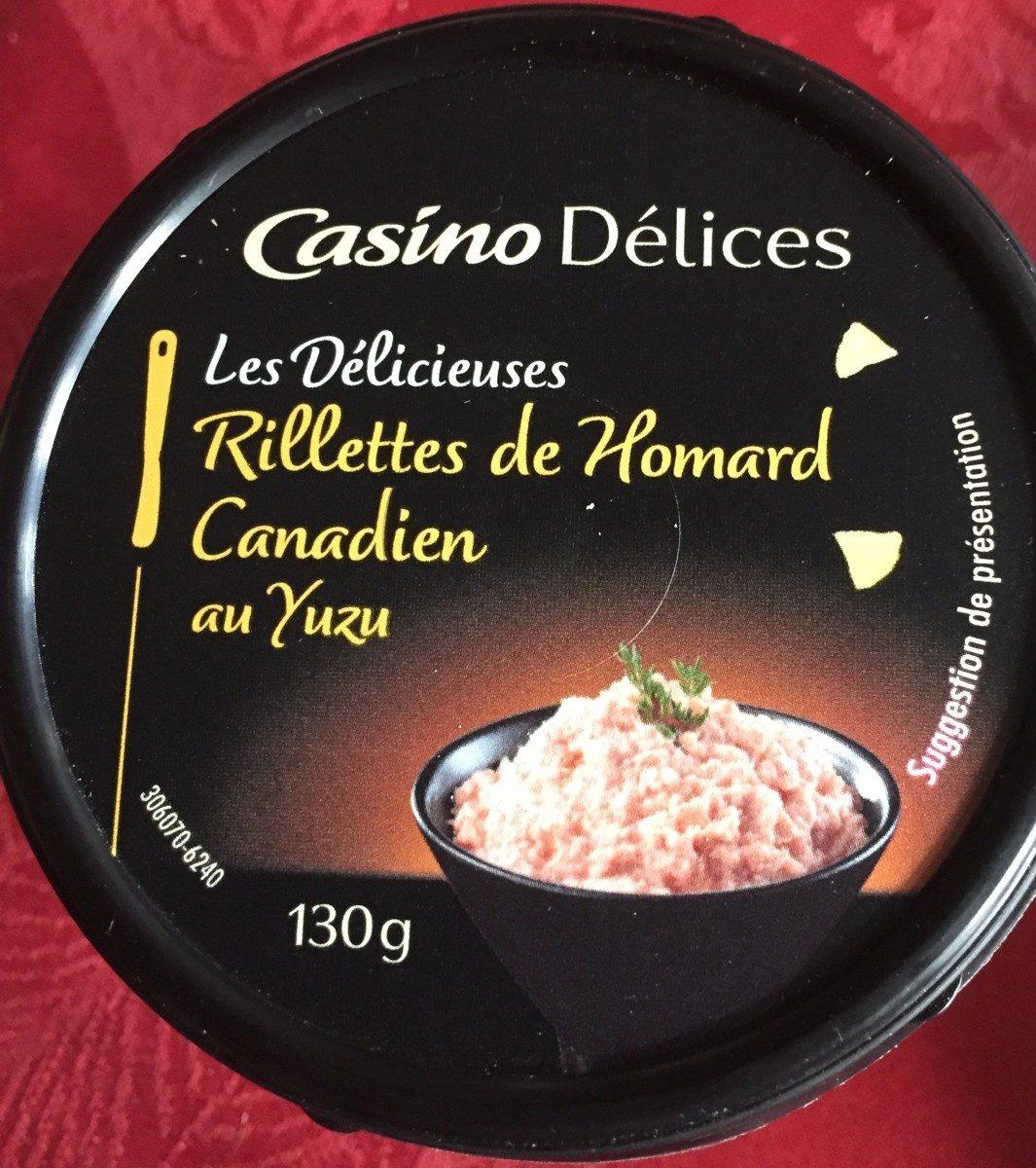 Rillettes de homard canadien au yuzu - Product