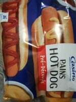 Pain hotdog x4 - Product - fr
