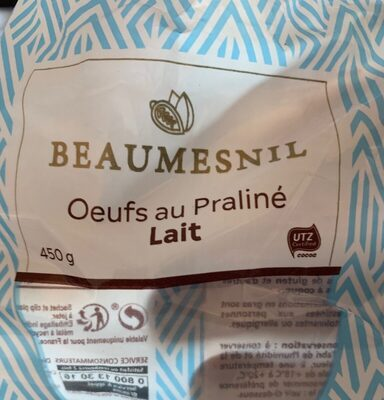Sac œufs praliné lait - Product - fr