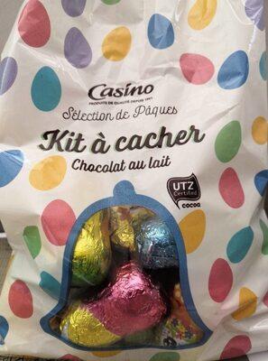 Kit à cacher chocolat au lait - Prodotto - fr