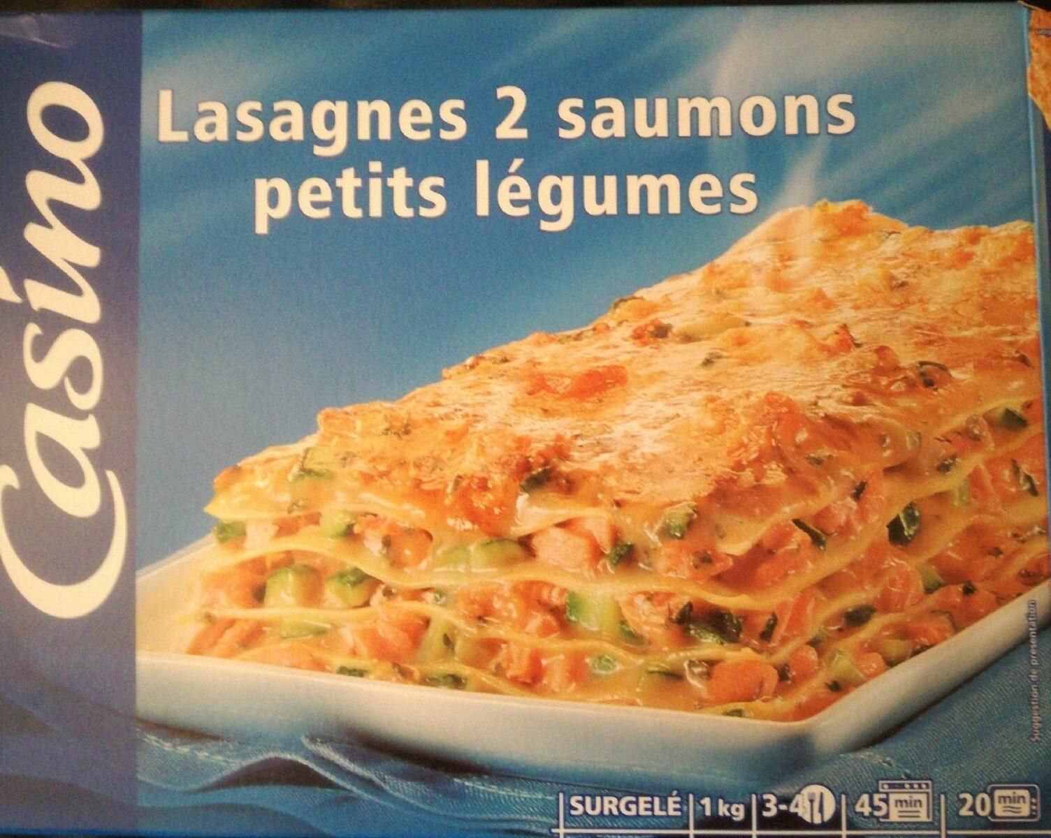 Lasagnes 2 saumons petits légumes - Product - fr