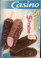 Bâtonnets vanille x5 & bâtonnets fraise x5 - Product - fr
