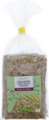Crackers farine complete - Product