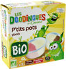 P'tits pots glacés vanille/chocolat framboise/vanille bio x8 - Product
