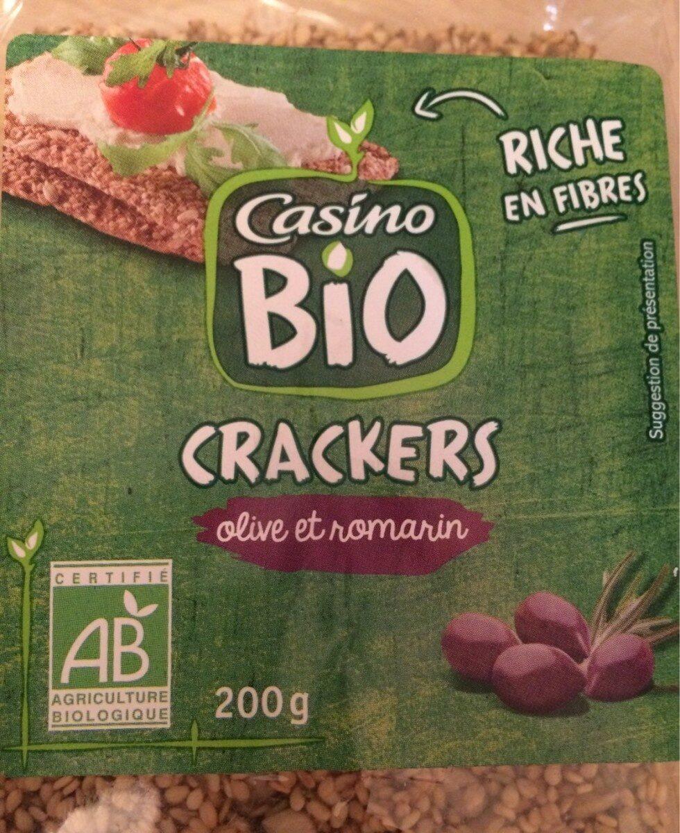 Crackers olive et romarin - Produit - fr