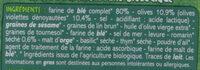 Crackers olive et romarin - Ingrédients - fr