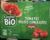 Tomate pelées concassées - Product