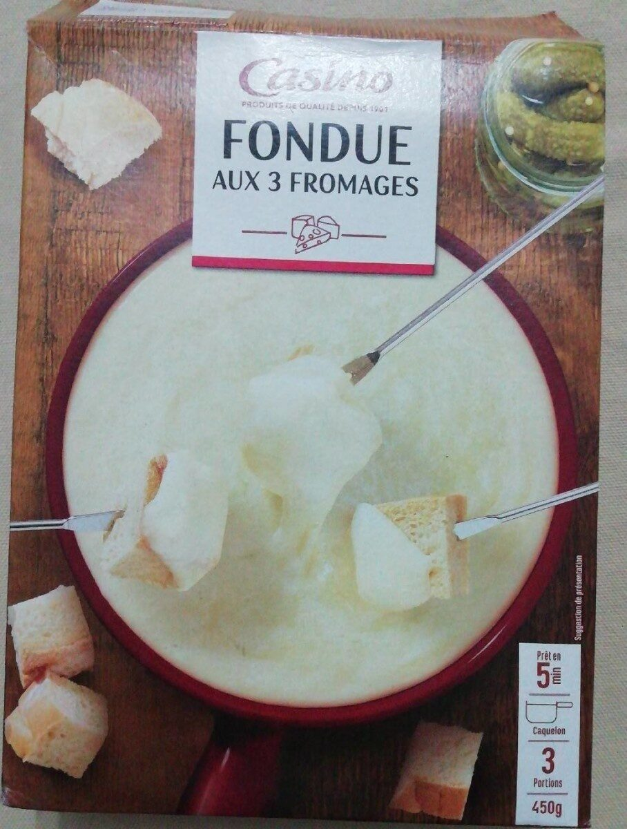 Fondu 3 fromage - Product - fr