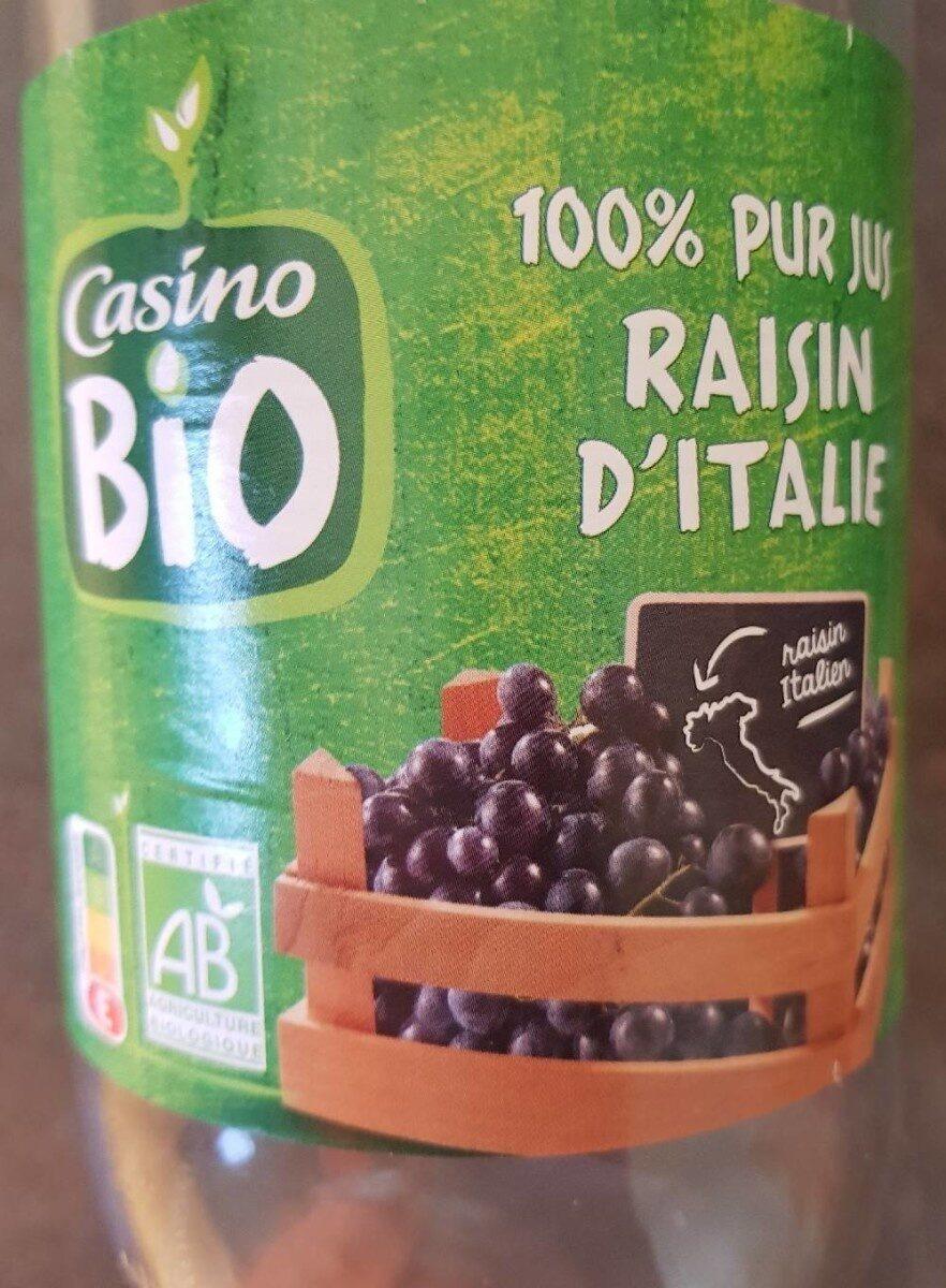 100% pour jus raisin d'italie - Prodotto - fr