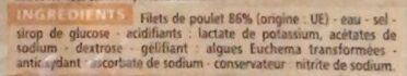Râpé de poulet - Ingrédients - fr