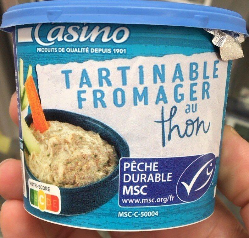 Tartinable Fromager au thon - Produit - fr
