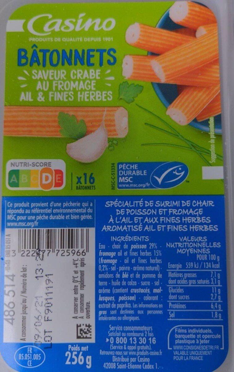Bâtonnets de surimi - Prodotto - fr