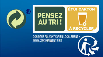 Couscous Grain Fin - Recycling instructions and/or packaging information - fr