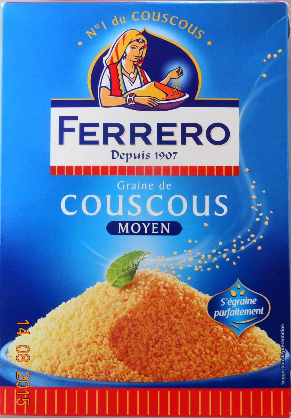 Couscous moyen - Product