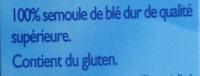 Couscous moyen - Ingrediënten