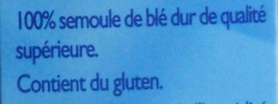 Couscous moyen - Ingrédients