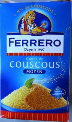 Couscous Moyen 500G Ferrero - Producte - fr