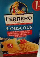 Couscous Sachets - Product - fr