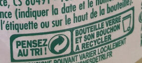 pulco citron - Instruction de recyclage et/ou information d'emballage - fr