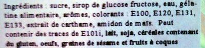 Seau Boules de Glace - Ingredients